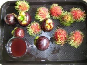 Непонятные фрукты, но вкусные